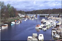 NS3981 : River Leven by Anne Burgess
