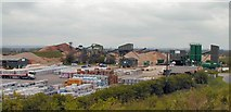 SK4729 : Lockington Quarry & Readymix Plant by Chris J Dixon
