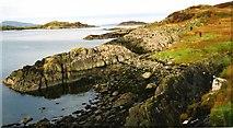 NR7185 : Port Bealach nan Gall by Anne Burgess