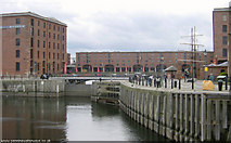 SJ3489 : Albert Dock, Liverpool by Martin Clark