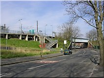 SD8401 : Woodlands Road Station, Cheetham Hill, Manchester by Keith Williamson