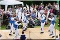 NZ0863 : Morris Dancers at Ovingham Goose Fair by Ann Hodgson
