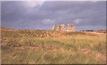 SH3862 : Ruined church, Ynys Llanddwyn. by Richard Webb