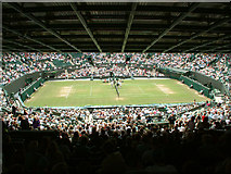 TQ2472 : Number One Court, Wimbledon by Stephen Dawson