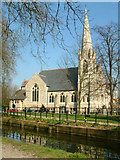TQ3296 : Trinity Church, Enfield by Stephen Dawson