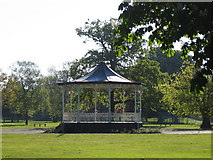 TQ0981 : The Bandstand in Town Hall Park, Hayes by Tony and Maureen Kemp
