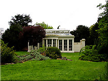 TQ1979 : The Orangery: Gunnersbury Park by Pam Brophy