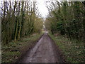 SE9627 : The footpath north eastwards out of Welton. by Andy Beecroft