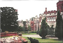 SJ1257 : Ruthin Castle by Frederick Blake