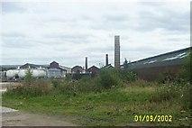 NS9577 : Steins Brickworks, Whitecross by paul birrell