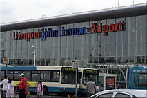 SJ4382 : Terminal Building Liverpool Airport by phil smith