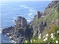 SW3633 : Crowns Mine at Botallack by Richard Johns