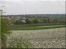 SE3323 : Farmland, Wakefield by Stuart and Fiona Jackson