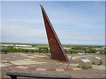 NZ3170 : Silverlink Park Sundial by Ken Brown