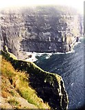 R0491 : Cliffs of Moher by Anne Burgess