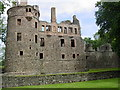NJ5340 : Huntly Castle, view from near main entrance. by Lyall Duffus