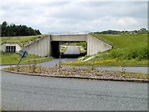 SK5130 : Bridge under the A453 by Chris J Dixon