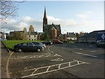 NS5620 : Cumnock Trinity Church, Cumnock, Ayrshire by J M Briscoe