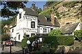 SK5739 : Ye Olde Trip To Jerusalem, Nottingham by Patrick A Griffin