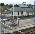 TL1960 : St. Neots railway station by Jeff Bronks