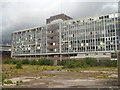ST5972 : Royal Mail sorting office (derelict), Temple Meads, Bristol by Clive Barry