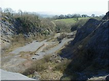SN6016 : Disused Quarry by Hywel Williams
