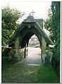 SU7886 : Hambleden (Bucks) St Mary the Virgin, Lych Gate by Chris Coleman