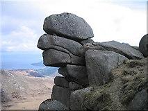 NR9540 : Granite torr on Beinn Tarsuinn by Ian Mitchell