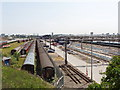 TQ2182 : Old Oak Common Sidings by David Hawgood