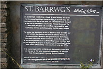 ST1789 : St Barrwg's Church, Bedwas by johngriffiths