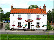 SE7047 : The Grey Horse Inn, Elvington by David Forster