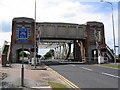 TA0932 : Sutton Road Bridge - Looking west by Stephen Horncastle