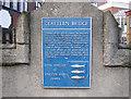 Photo of Clattern Bridge blue plaque