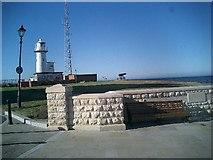 NZ5333 : Lighthouse on Hartlepool Headland by Richard Atkinson