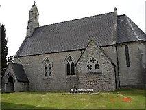 SJ0171 : St Mary's Church, Cefn Pella by Dot Potter
