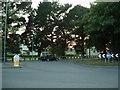 SU4513 : Roundabout, Townhill Park, Southampton by GaryReggae