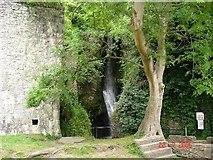 SJ0579 : Dyserth Waterfalls by Dot Potter
