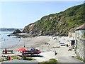 SX0952 : Polkerris Beach by Chris J Dixon