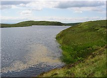 NS4577 : Fyn Loch by Richard Webb