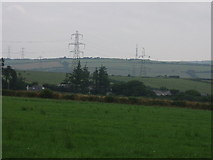 SX0166 : Pylons on Mulberry Downs by Sheila Russell