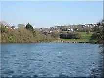 SX5052 : Radford Lake in Plymstock by Tony Atkin