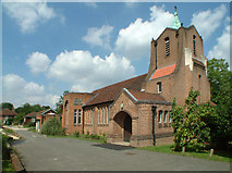 TQ3666 : Church of St George, Shirley, Croydon by Philip Talmage