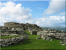 HY3826 : Broch of Gurness by Rob Burke