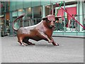 "SP0786 : The ""BULL"" at the Bullring Shopping Centre by Tom Courtney"