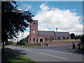SJ4474 : Thornton le Moors Church by Dennis Turner