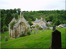 NT3158 : Temple Old parish Church, Midlothian by Kevin Rae