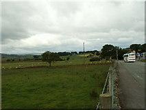 SH9150 : Farmland alongside A5, near Glasfryn by Nigel Callaghan