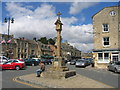 SP1925 : Cross and Sundial, Stow-on-the-Wold by David Stowell