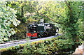 SH5456 : Welsh Highland Railway train at Plas-y-nant by Martin Bodman