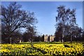 TQ2997 : Trent Park House in Spring by Christine Matthews